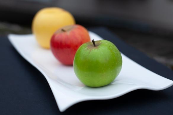 Les pommes de jardin non traitées utilisées en 2020.